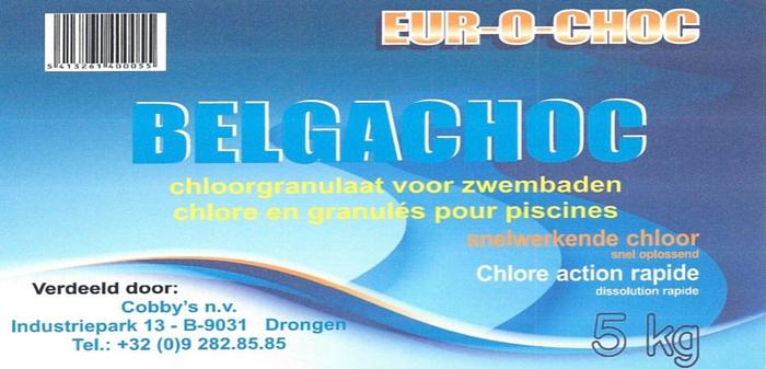 Chloorgranulaat Belgachoc